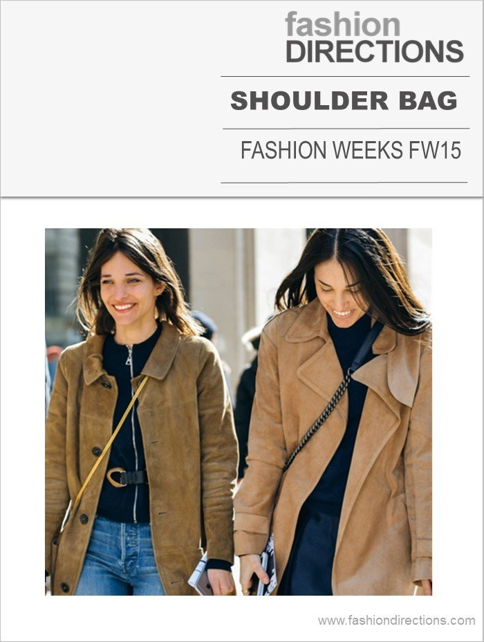 Shoulder Bags Front Row Trend FW15