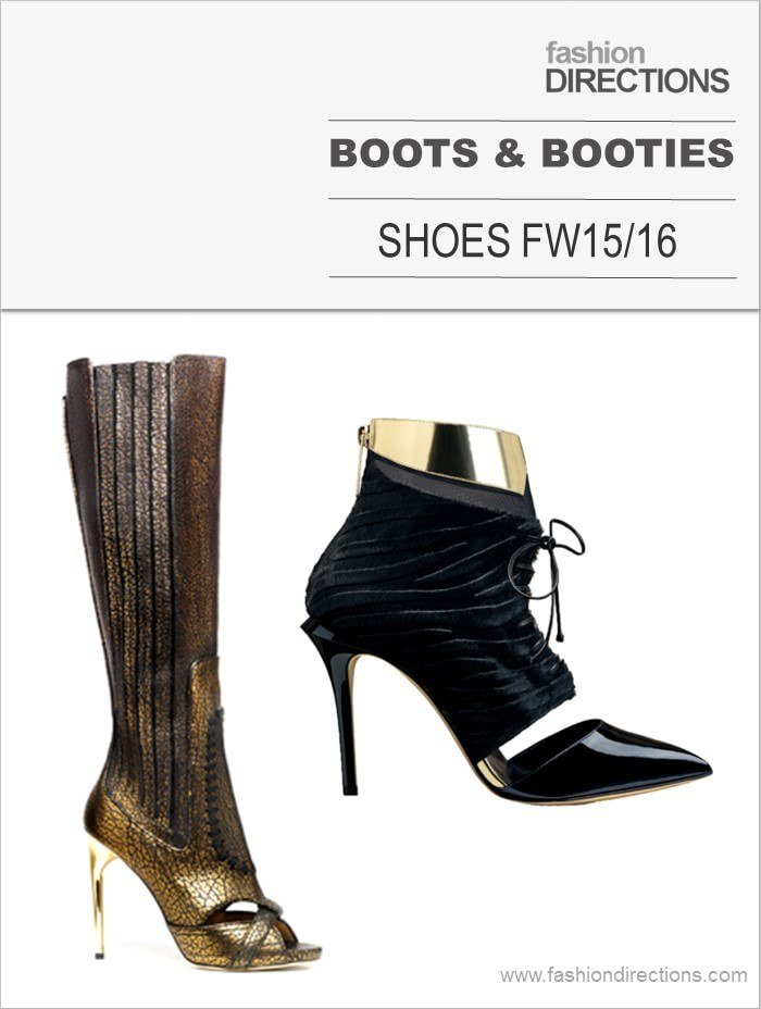 Boots & Booties Fall Winter 2015