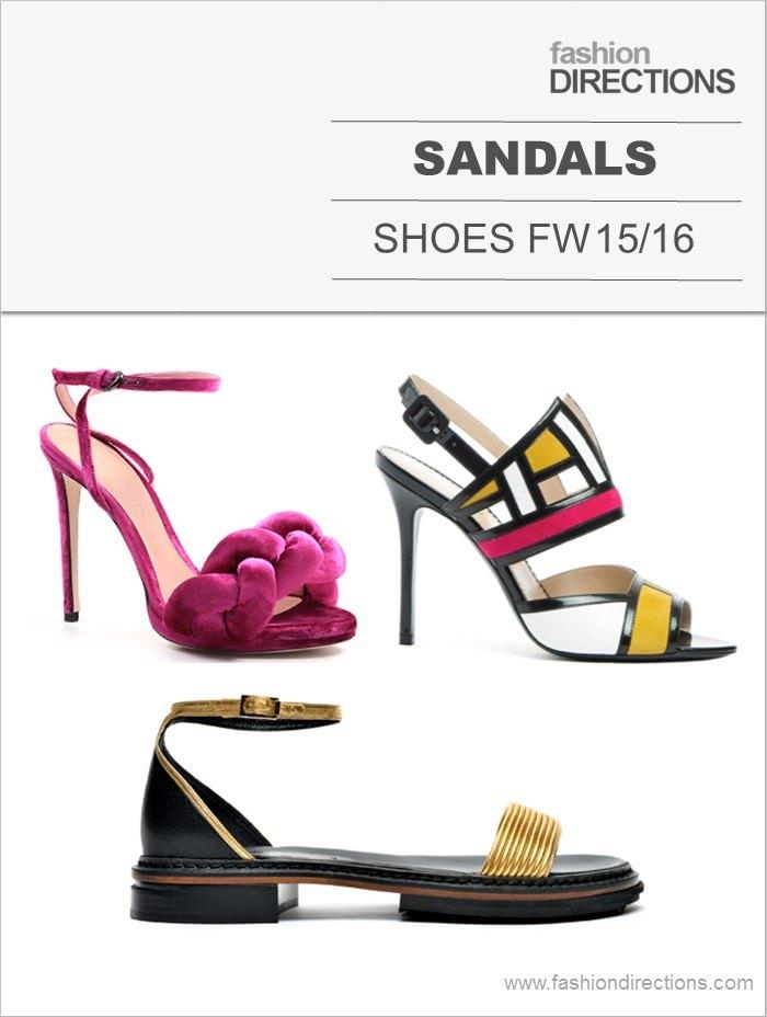 Sandals FW15/16