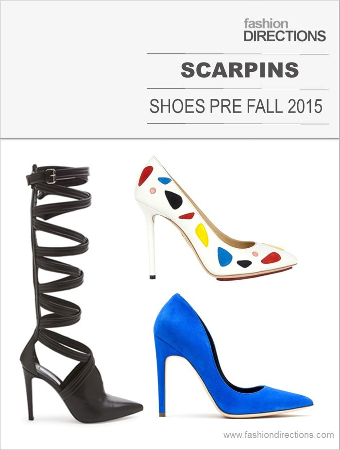 Scarpins Pre Fall 2015