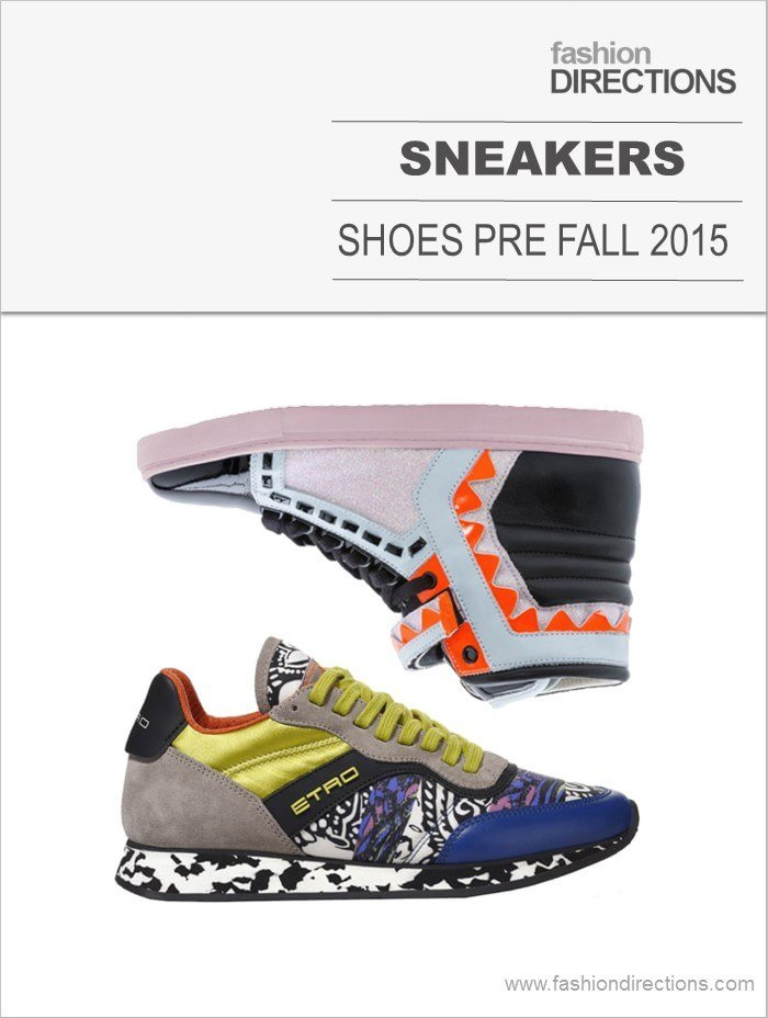 Sneakers Pre Fall 2015