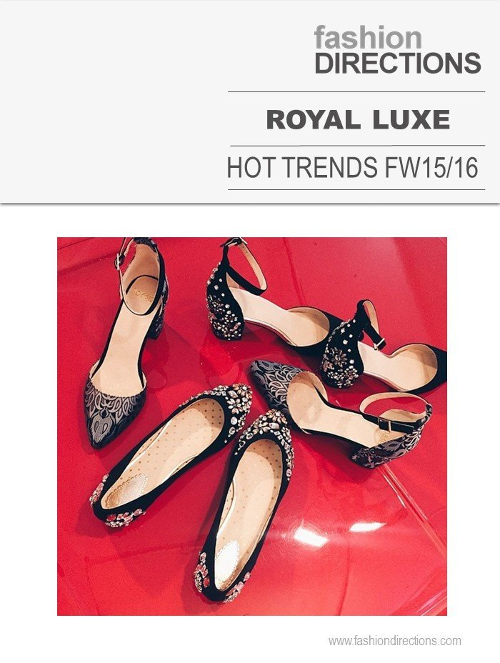 Royal Luxe Hot Trends FW15/16