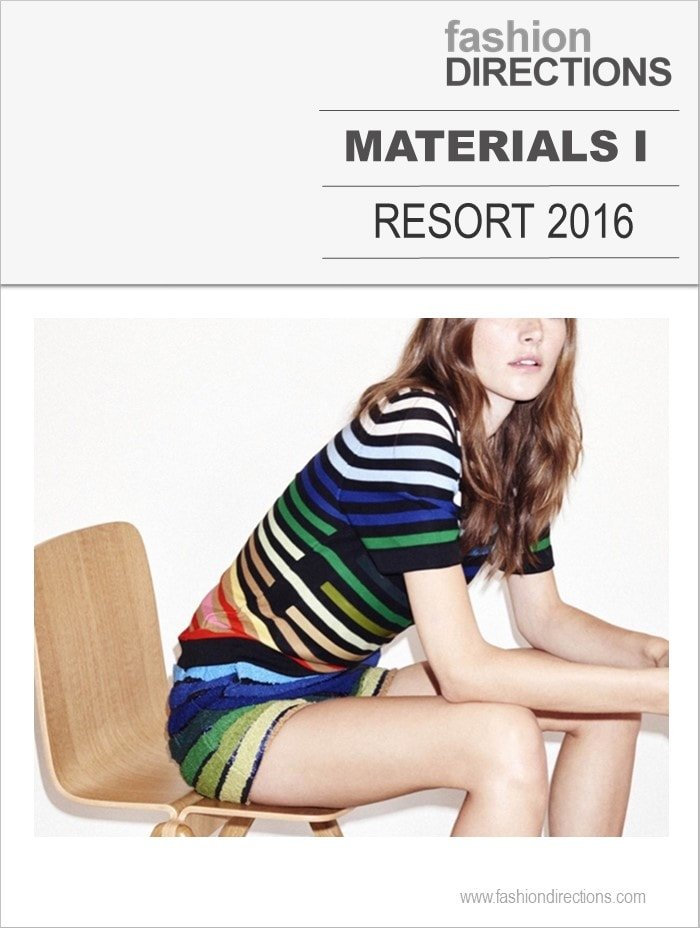 Key Prints & Materials Resort 2016