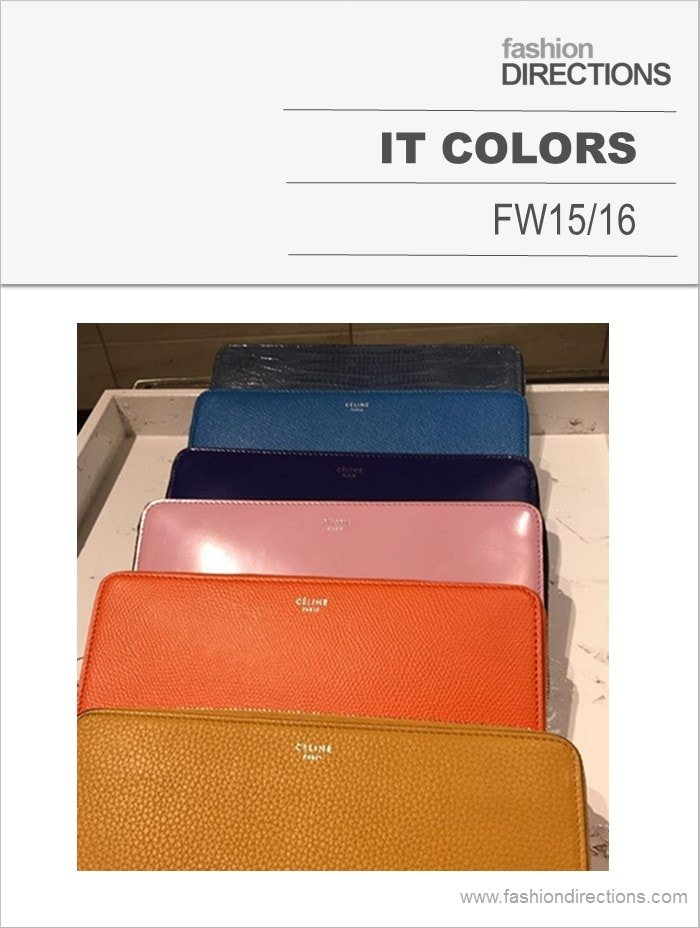 It Colors Confirmation FW15/16
