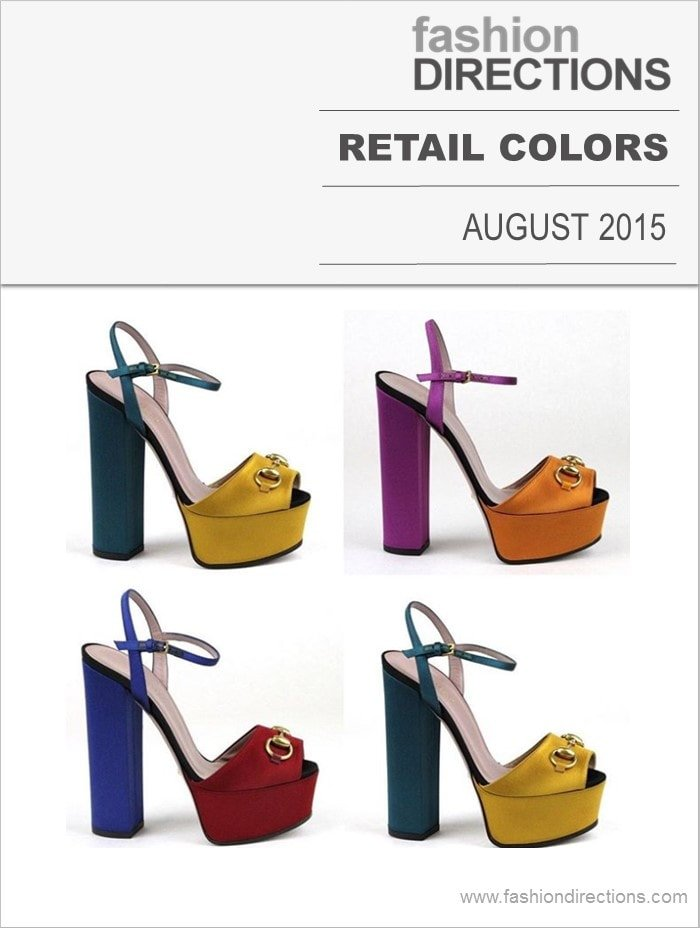 Retail Colors August 2015