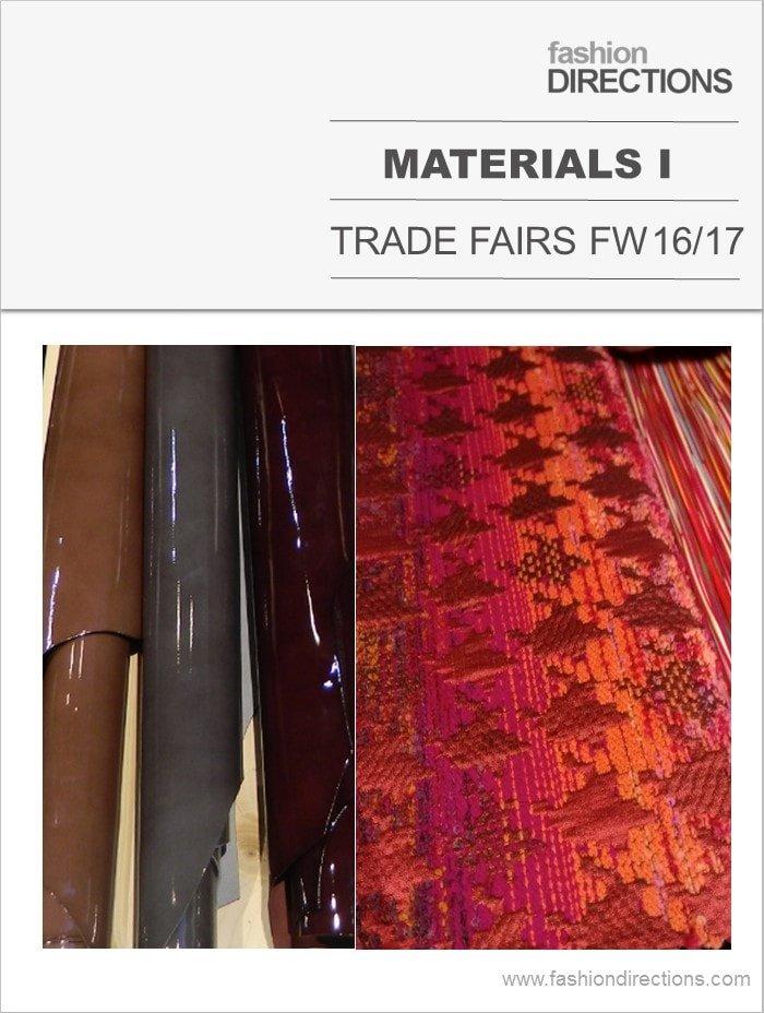 Materials FW16/17 – part 1