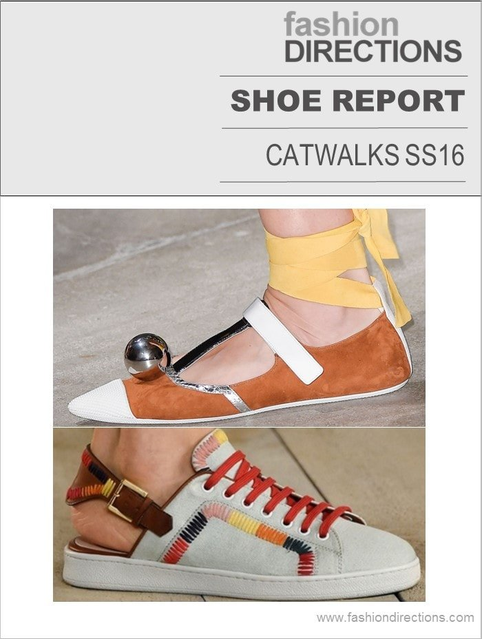 Spring/Summer 16 Shoe Report