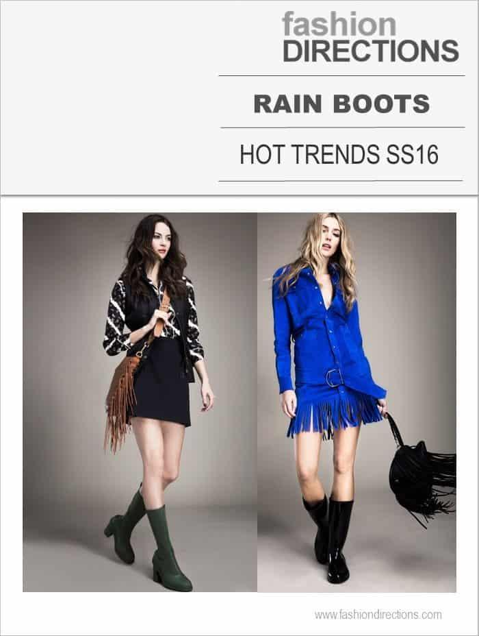 Rain Boots Hot Trends SS16