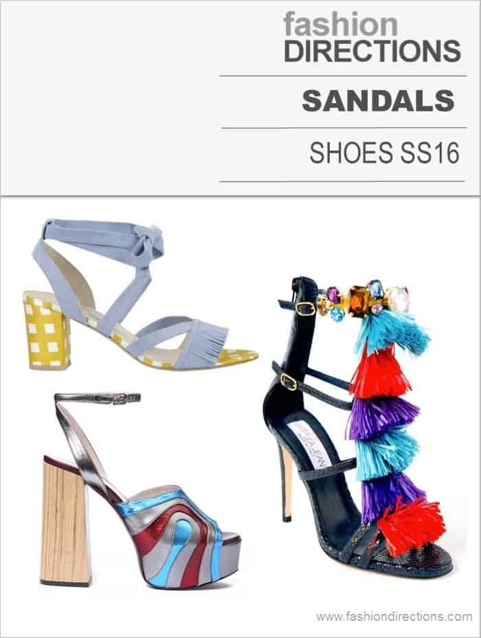 Sandals SS16