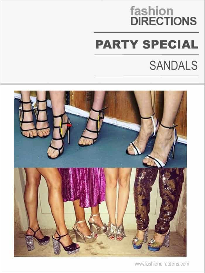 Party Sandals Guide 2016