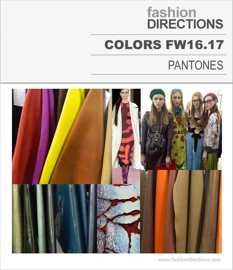 Colors Pantones FW16/17