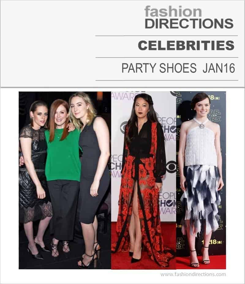 Celebrities & Red Carpet Party Shoes Jan 16