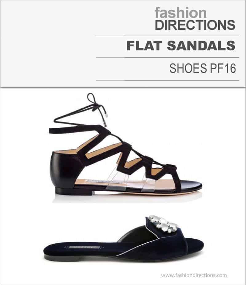 Flat Sandals Pre Fall 2016