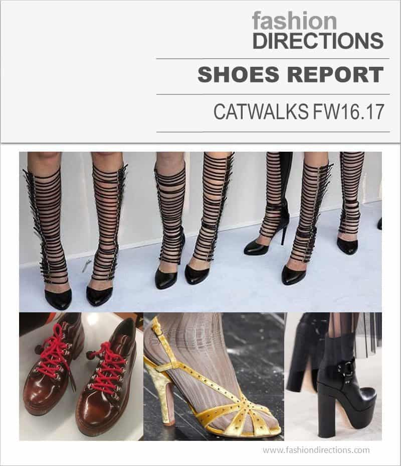 Catwalk Shoes Report FW16/17