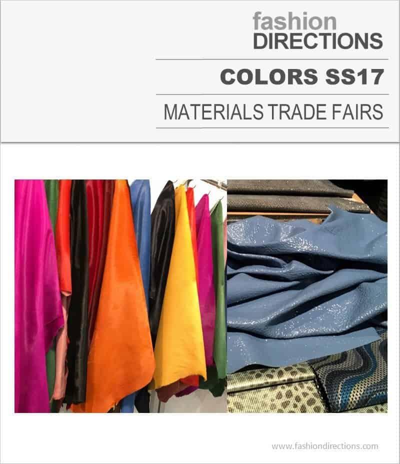 Colors SS17 Trade Fairs Pantones