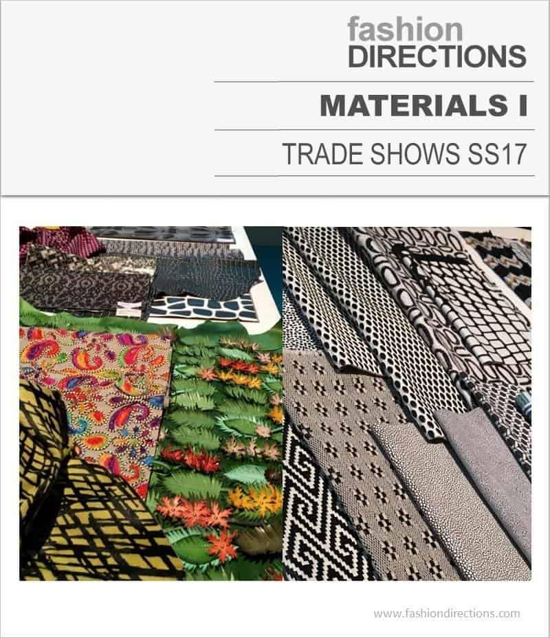 Materials Trade Shows SS17 I