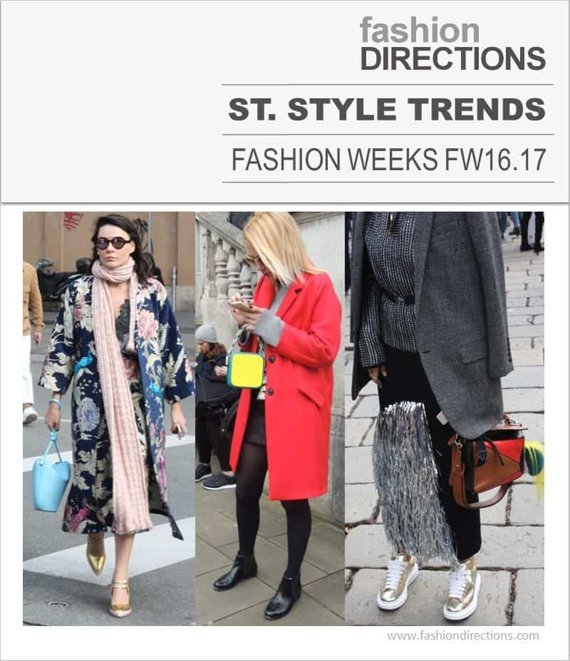 Street Style Trends Fashion Week FW16/17