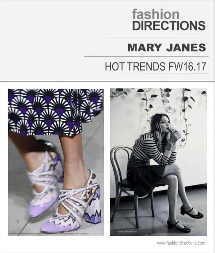 Hot Trends FW16/17 Mary Janes