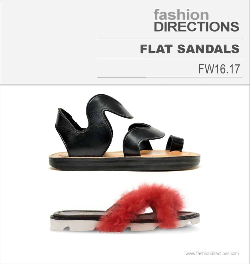 Flat Sandals FW16/17