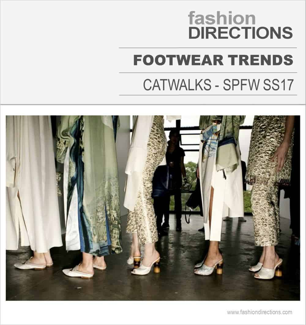 Footwear Trends SPFW SS17