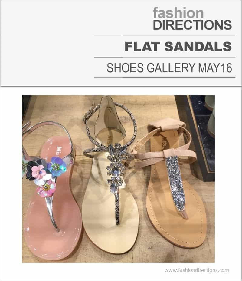 Flat Sandals May 2016