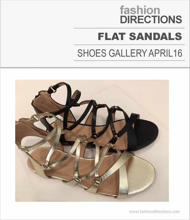 Flat Sandals April 2016