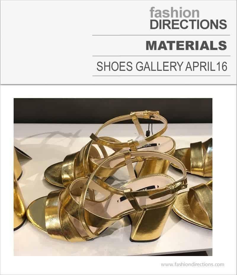 Shoes Materials April 2016