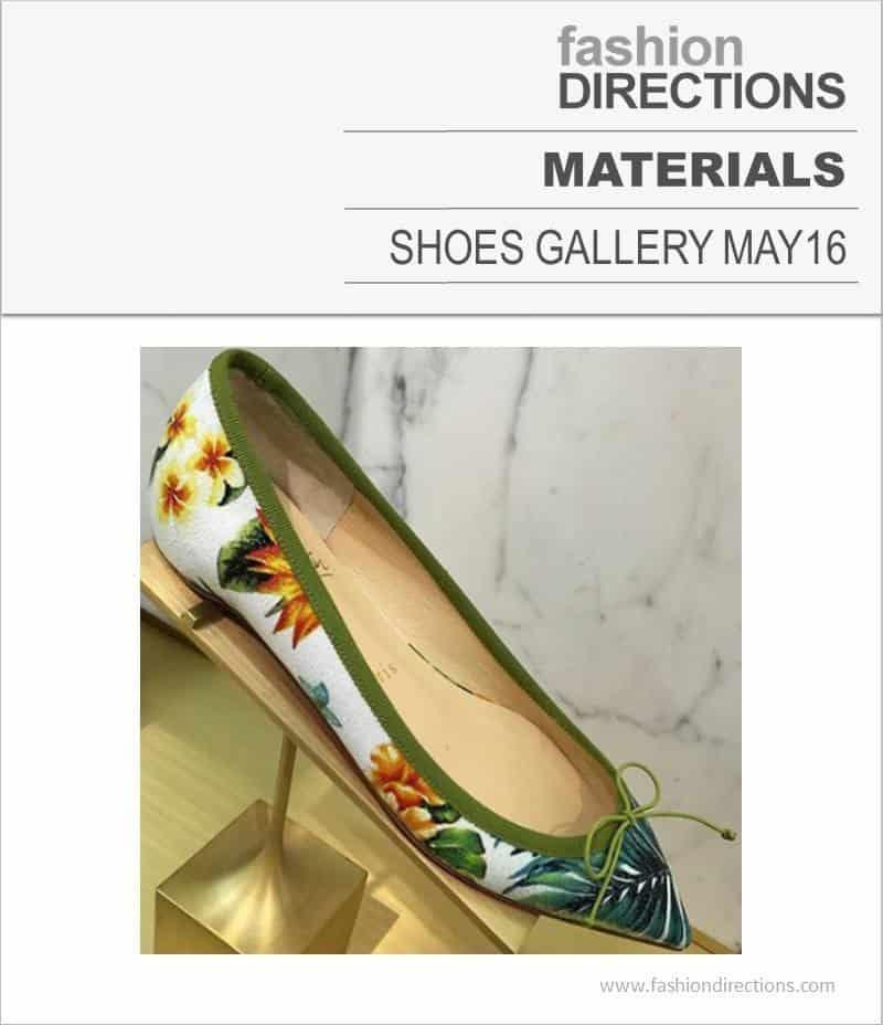 Shoes Materials May 2016
