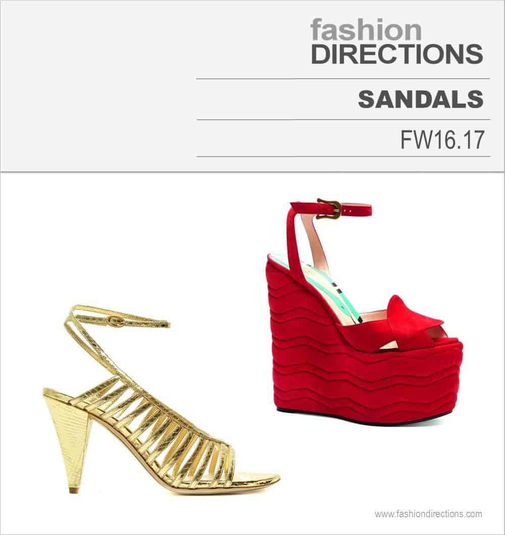 Sandals FW16/17