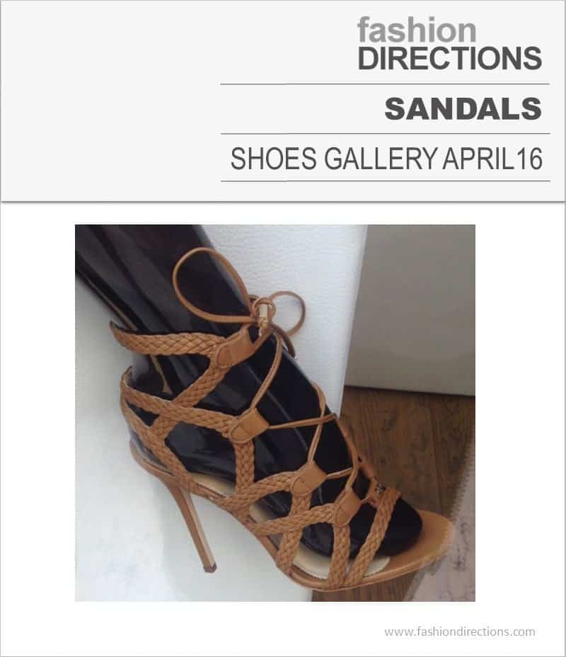 Sandals April 2016
