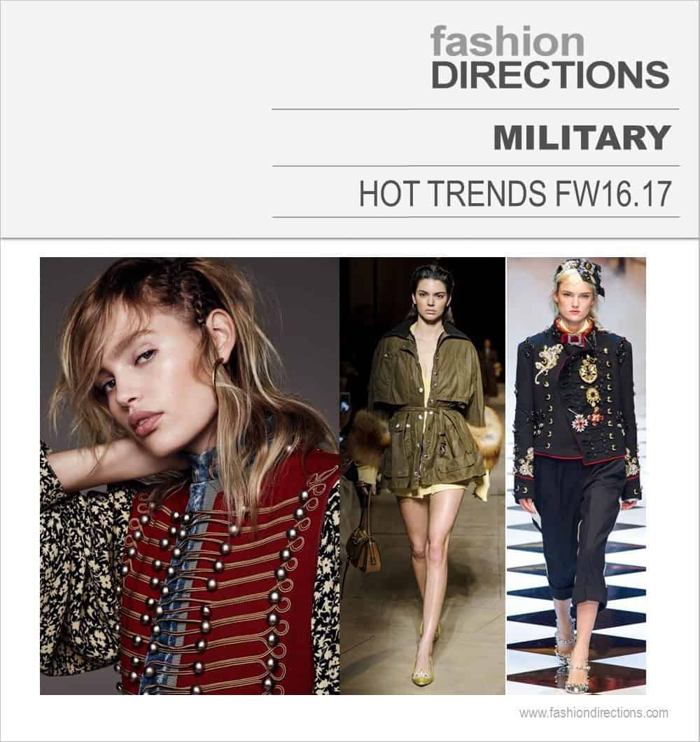 Hot Trends FW16/17 Military