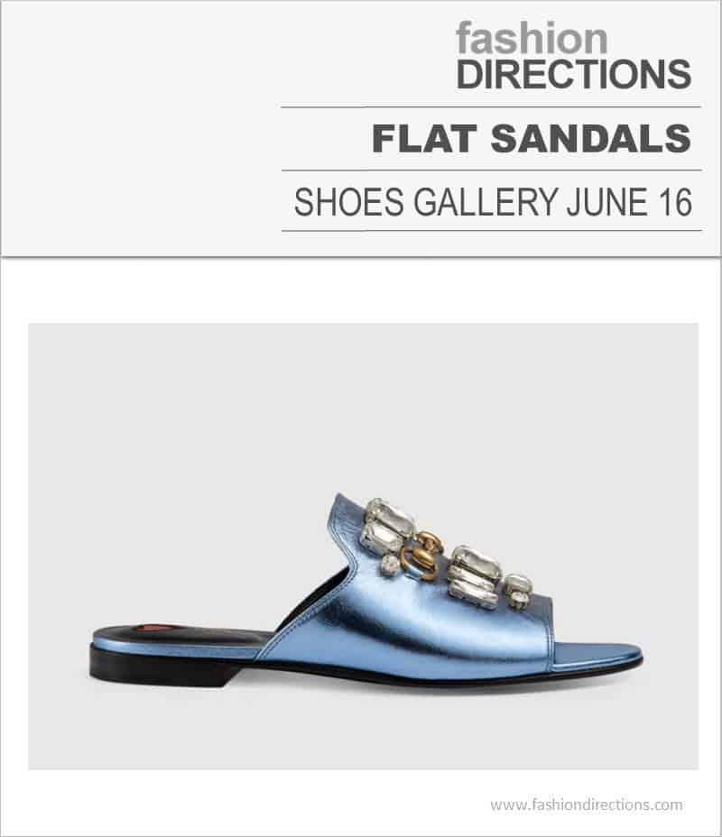 Flat Sandals June 2016