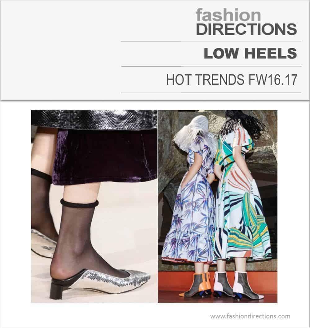 Hot Trends FW16/17 Low Heels