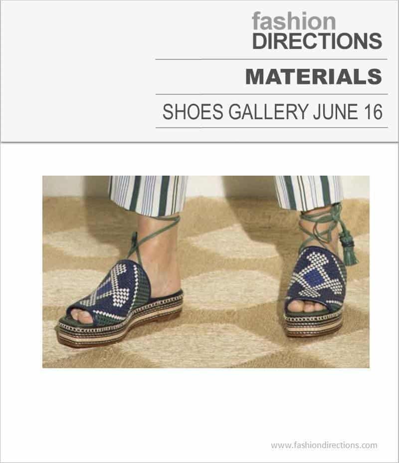 Shoes Materials June 2016