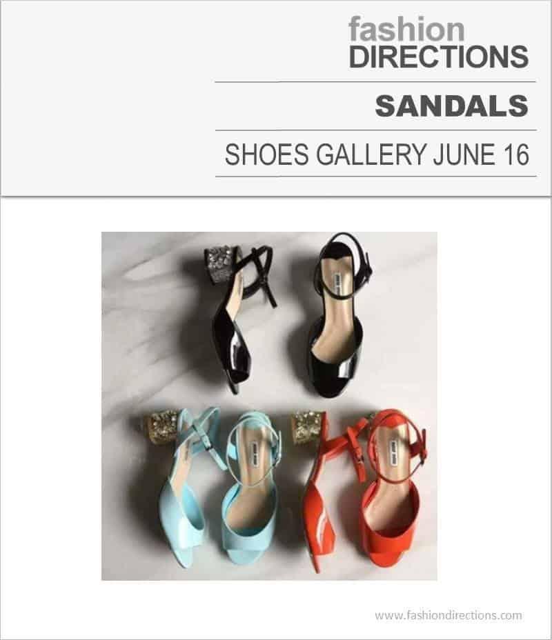Sandals June 2016