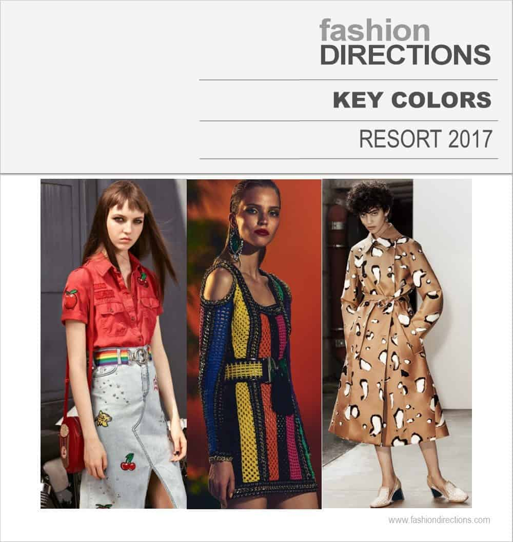 Key Colors & Color Combos Resort 2017