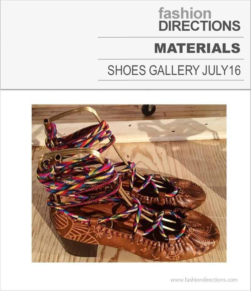 Shoes Materials July 2016