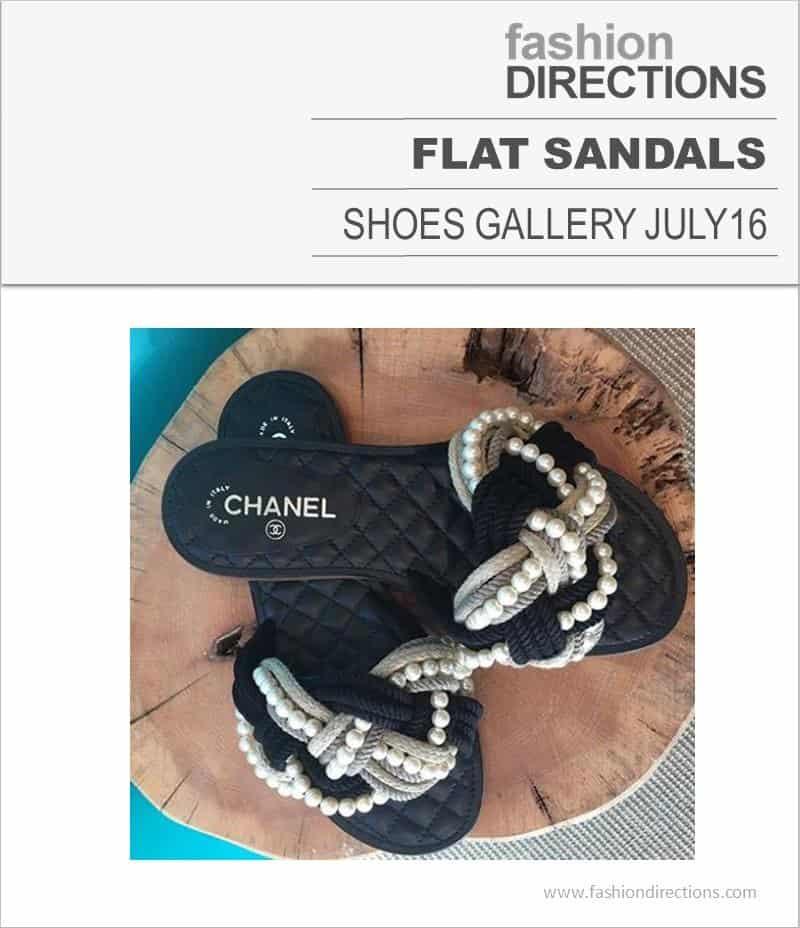 Flat Sandals July 2016