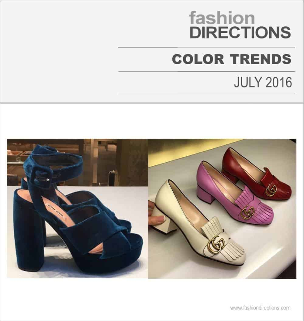 Color Trends July 2016
