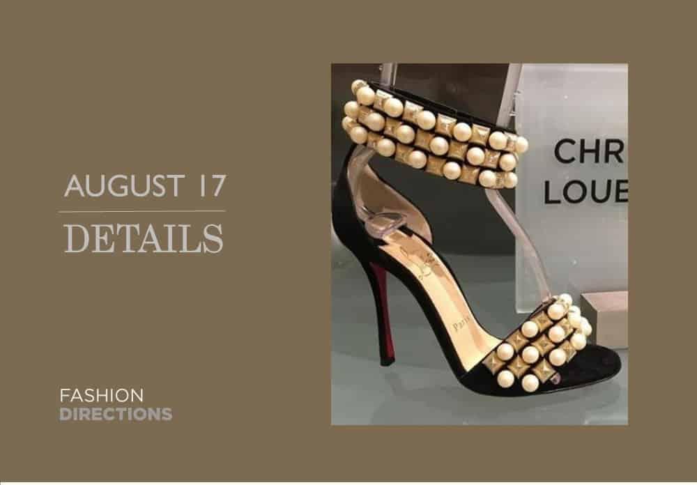 Shoes Details August 2016