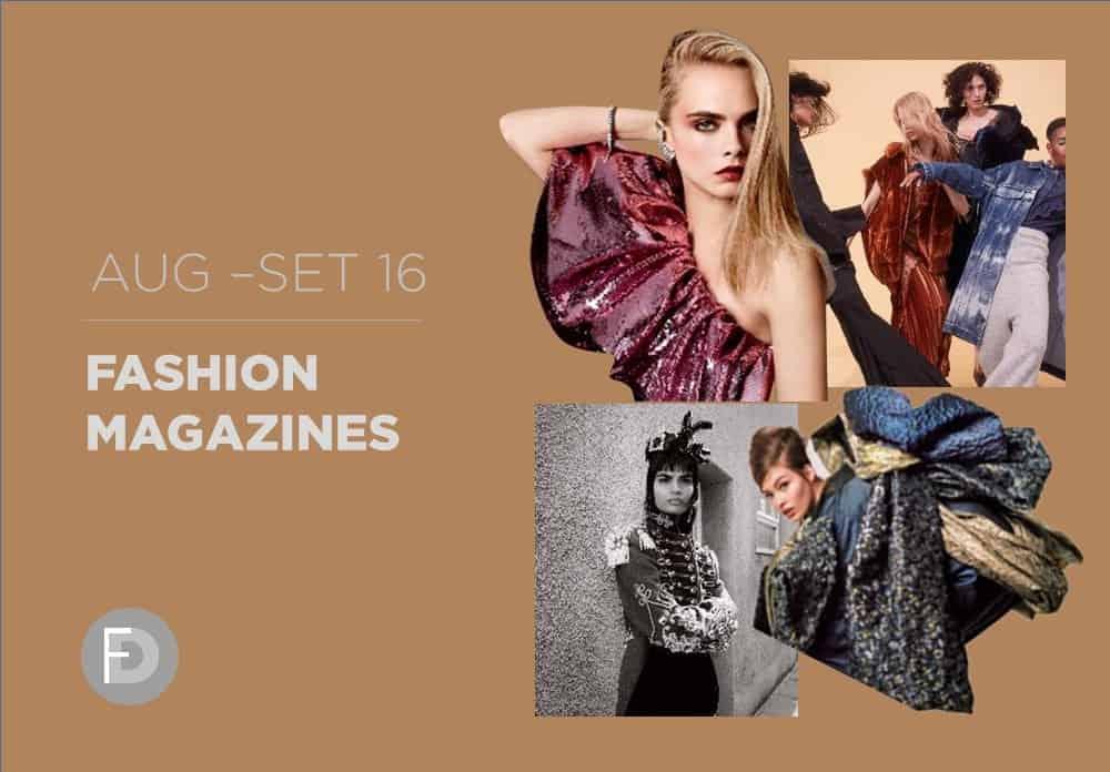 Fashion Magazines August – September 2016