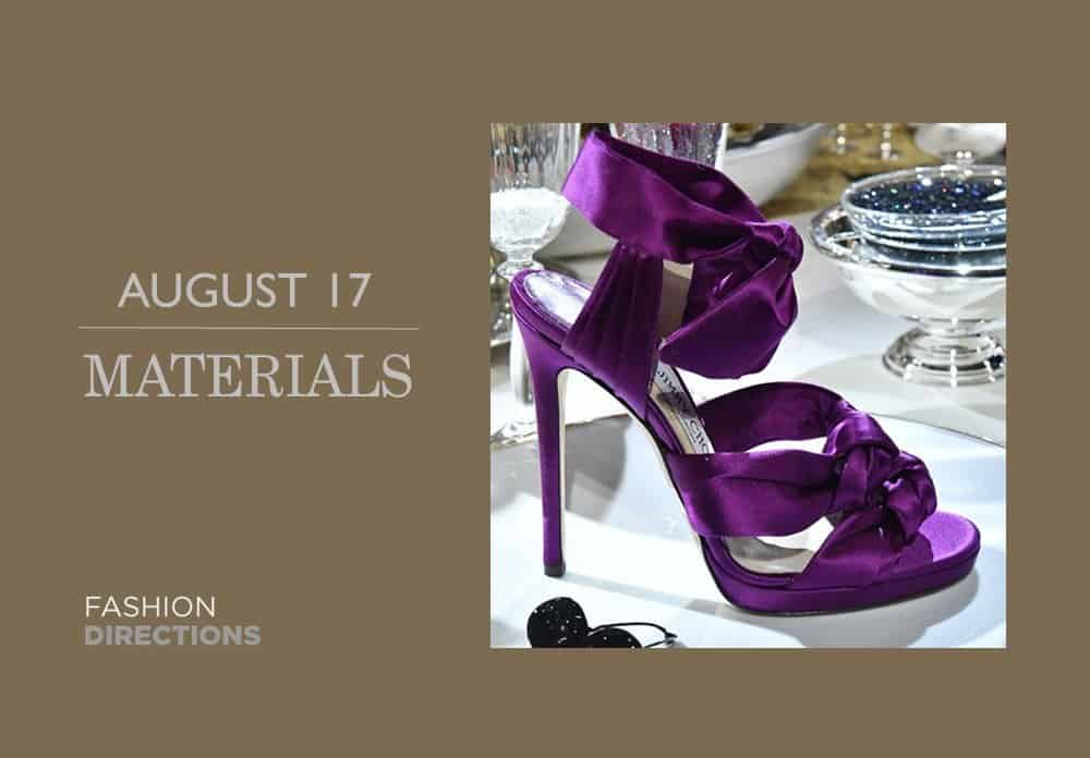 Shoes Materials August 2016