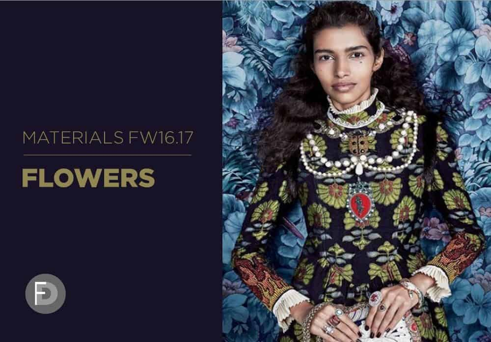Materials Trends FW16/17 Flowers