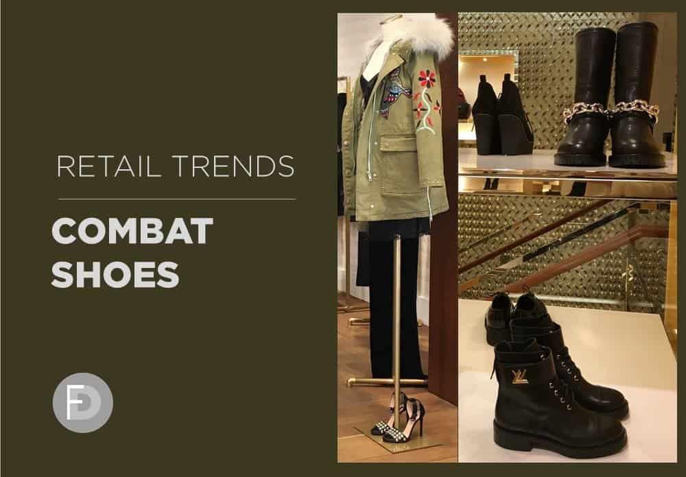 Retail Hot Trends Combat Shoes
