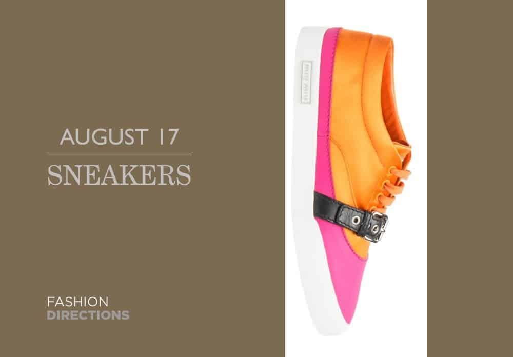 Sneakers August 2016