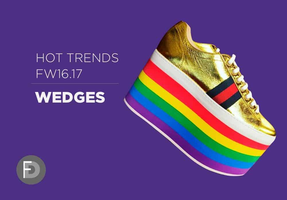 Wedges Hot Trends FW16/17