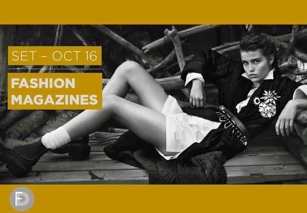 Fashion Magazines Sep – Oct 2016