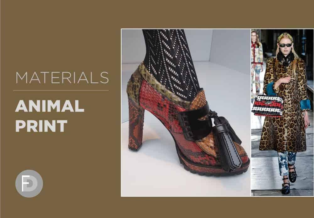 Materials FW16/17 Animal Print