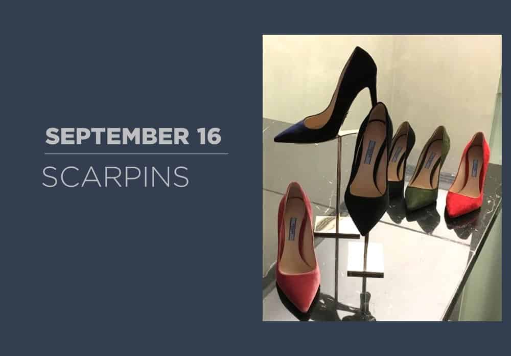 Scarpins September 2016