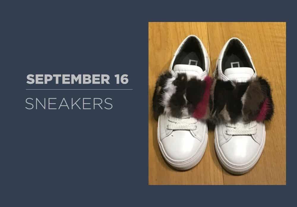 Sneakers September 2016